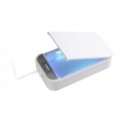 جهاز تعقيم متعدد المهام مع يو اس بي بقوة 5 فولت من تيك باس - أبيض