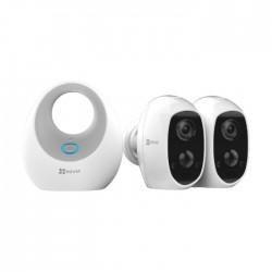 2 كاميرا  مراقبة بدون أسلاك من ايزفيز (CS-W2D-B2-EUP)