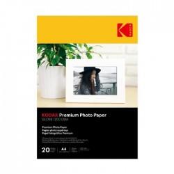 Kodak A4 High Gloss Photo Paper (PKT20)