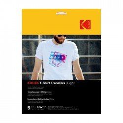 Kodak A4 Light T-Shirt Transfer Paper (PKT5)