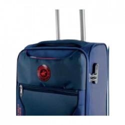 حقيبة السفر يو اس بولو هانتر حجم وسط - أزرق