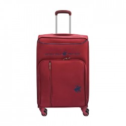 US Polo Gerardo XL Soft Luggage - Red