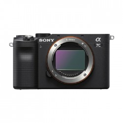 كاميرا سوني الفا ايه 7 سي الرقمية بدون مرآه (هيكل فقط) - أسود