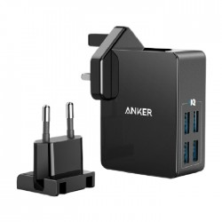 Anker PowerPort 4 Lite Wall charger (A2042L11) - Black