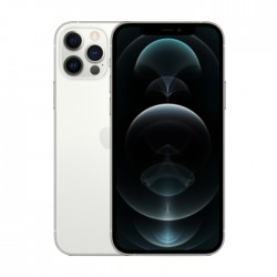 هاتف ابل ايفون 12 برو ماكس بسعة 256 جيجابايت وبتقنية 5 جي - فضي