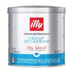 علبة من ٢١ كبسولة قهوة اسبريسو منزوعة الكافيين من إيلي – أزرق