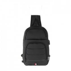 حقيبة ظهر لحجم 10-12 بوصة  من اي كيو (KTB190918) - أسود