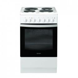 طباخ السيراميك الكهربائي٥٠x٦٠ سم ٤ شعلة من انديست (I5ESH1E(W)/EX)  - أبيض