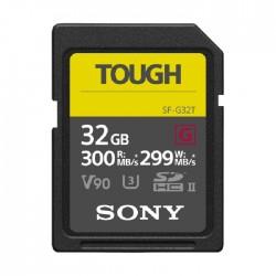 بطاقة ذاكرة سوني 32 جيجابايت SF-G Tough Series UHS-II SDHC