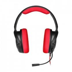سماعة رأس الألعاب كورسير HS35 ستيريو - أحمر