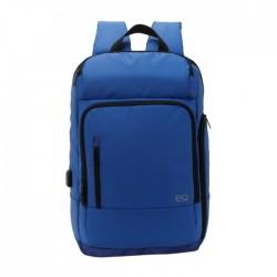 حقيبة الظهر إي كيو لأجهزة اللابتوب بحجم ١٥,٦ بوصة - أزرق (KLB180810M)