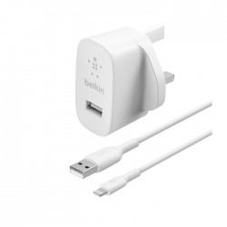 Belkin Boost Charge USB-A 12W Wall Charger + Lightning Cable in Kuwait | Buy Online – Xcite