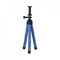 حامل ثلاثي مرن للهواتف الذكية و GoPro من هاما - أزرق