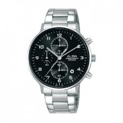 Alba 40mm Chronograph Gents Metal Casual Watch (AM3683X1)