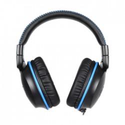 سماعة رأس الألعاب سيدس إف-باور السلكي - أسود / أزرق (SA-717)