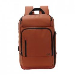 حقيبة الظهر إي كيو لأجهزة اللابتوب بحجم ١٥,٦ بوصة - بني (KLB180810M)