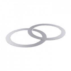 حلقات فولاذية إضافية من اوسناب ( قطعتان)
