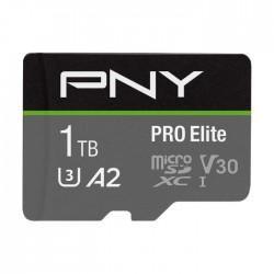 بطاقة ذاكرة برو إليت مايكرو إس دي 1 تيرابايت C10 U3 V30 من بي إن واي