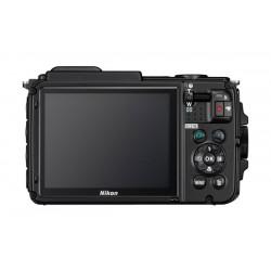 كاميرا نيكون كوولبيكس إيه دبليو١٣٠ الرقمية - ١٦ ميجا بكسل ومضادة للماء - أسود - AW130