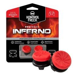 Kontrolfreek FPS Freek inferno Nintendo Switch Pro Performance Thumbsticks red in package