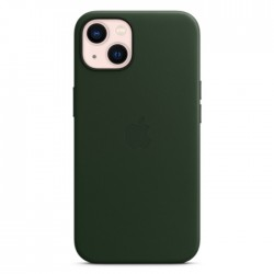 Apple iPhone 13 MagSafe Leather Case dark Sequoia Green buy in xcite kuwait