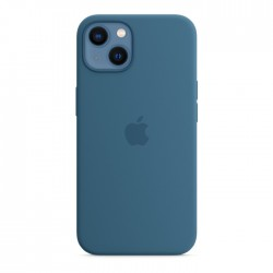 Apple iPhone 13 MagSafe Silicone Case light blue buy in xcite kuwait