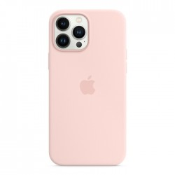 Apple iPhone 13 Mini MagSafe Silicone Case light Chalk Pink buy in xcite kuwait