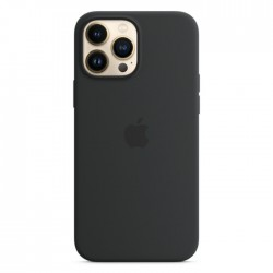 Apple iPhone 13 Pro MagSafe Silicone Case black midnight buy in xcite kuwait