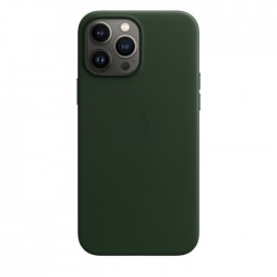 Apple iPhone 13 Pro Max MagSafe Leather Case dark green buy in xcite kuwait
