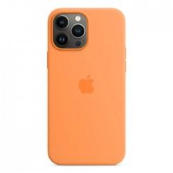 Apple iPhone 13 Pro Max MagSafe Silicone Case orange buy in xcite kuwait
