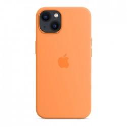 غطاء حماية آبل لآيفون 13 ميني من السيليكون مع ماجسيف - برتقالي