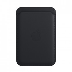Apple iPhone Leather Wallet with MagSafe black Midnight buy in xcite kuwait