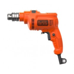 Black & Decker 550W 10mm Single Speed Drill (KR5010-B5) - Orange