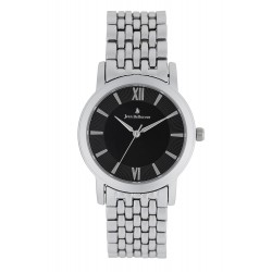 ساعة جين بليكور كوارتز للجنسين بعرض تناظري وحزام معدني - 34 ملم - JB1033