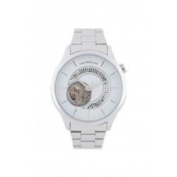 ساعة جين بليكور رجالية أوتوماتيكية بعرض تناظري وحزام معدني (JB1111)