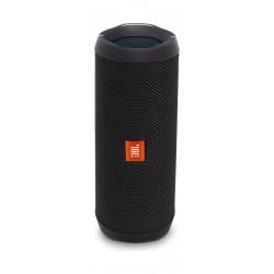 JBL Flip 4 Waterproof BT Speakers (JBLFLIP4BLK) – Black front view