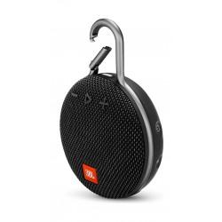 JBL Clip 3 Wireless Portable Bluetooth Speaker - Black