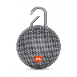 JBL Clip 3 Wireless Portable Bluetooth Speaker - Grey
