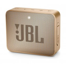 JBL GO 2 Portable Bluetooth Waterproof Speaker - Champagne