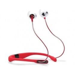 سماعات الأذن ريفليكت فت الرياضية اللاسلكية مع قياس معدل ضربات القلب من جي بي إل - أحمر