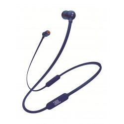 سماعة جي بي ال اللاسلكية مع ميكروفون بتقنية البلوتوث  T110BT  - أزرق