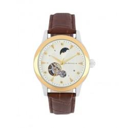 ساعة جين بليكور رجالية أوتوماتيكية بعرض تناظري وحزام جلد (JBP1901)