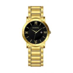 ساعة جوفيال 5022-LGMQ-03 النسائية - سوار معدني