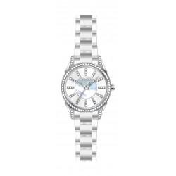 ساعة جوفيال النسائية- سوار معدني