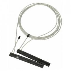 Jump rope 3 meter steel silver black reebok buy in xcite kuwait