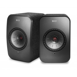 KEF LSX 100W Wireless Bluetooth Music System - Black