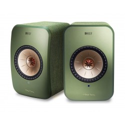 KEF LSX 100W Wireless Bluetooth Music System - Green