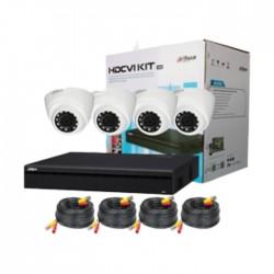 Dahua 4 Camera HVCR Indoor Surveilance Kit Price in Kuwait | Buy Online – Xcite