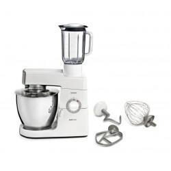 ماكينة المطبخ الكلاسيكية ماجور سعة ٦.٧ لتر وقوة ٩٠٠ واط من كينوود – أبيض مع فضي (KM636/002)