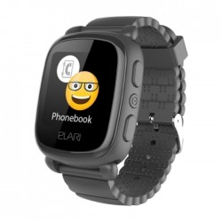 Elari Kidphone 2 Kids Black Smart Watch in Kuwait | Buy Online – Xcite